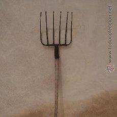 Antigüedades: HORCA ANTIGUA DE FORJA Y MADERA. Lote 28516727
