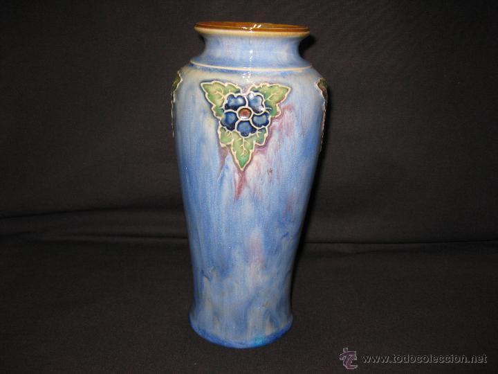JARRON ART NOUVEAU ROYAL DOULTON. AÑO 1929 (Antigüedades - Porcelanas y Cerámicas - Inglesa, Bristol y Otros)