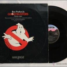 Discos de vinilo: MAXI SINGLE VINILO - BSO GHOSTBUSTERS / CAZAFANTASMAS - RAY PARKER JR - ED. ARISTA - 1984 - ESPAÑA. Lote 136323880