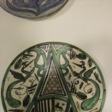 Antigüedades: PLATO CERÁMICA TERUEL PUNTER. Lote 42090392
