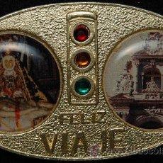 Antigüedades: PLACA VIRGEN DE LAS ANGUSTIAS DE GRANADA. Lote 42115947