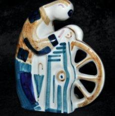 Antigüedades: FIGURA EN CERÁMICA DE SARGADELOS. Lote 42132065