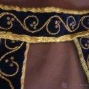 Antigüedades: CINTURILLA O FAJIN BORDADO EN ORO PARA IMAGEN RELIGIOSA. Lote 42145990