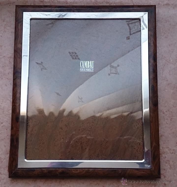 elegante marco para fotografías en madera lacad - Comprar Marcos ...