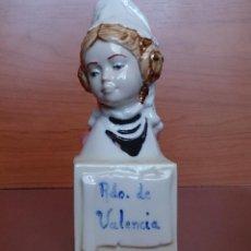 Antigüedades: ANTIGUO BUSTO DE FALLERA VALENCIANA EN PORCELANA . Lote 42167030
