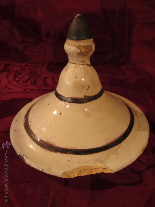 Antigüedades: Tarro de farmacia catalan de época Imperio circa 1820 - Foto 3 - 42195417