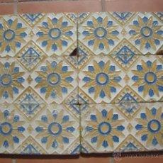 Antigüedades: AZULEJOS SIGLO XIX RAMOS REJANO. Lote 42209091