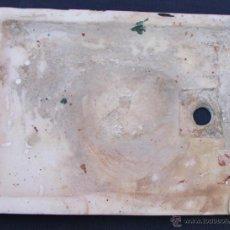 Antigüedades: ANTIGUO Y RARO PLATO DE DUCHA DE MARMOL NECESITA LIMPIEZA. Lote 42219688