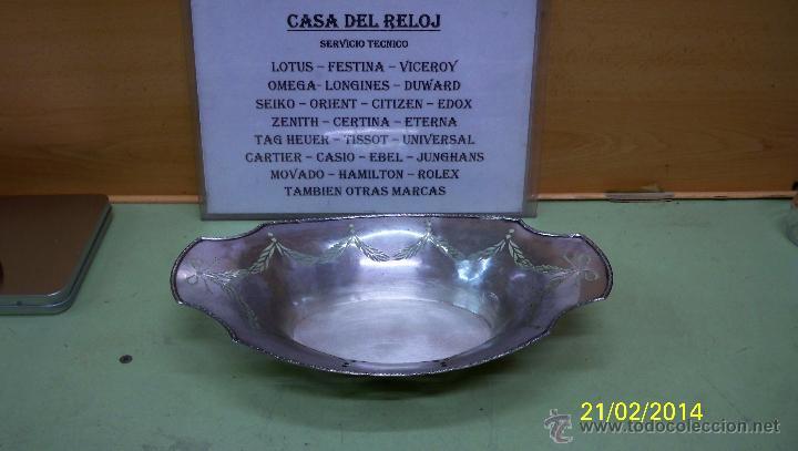 Antigüedades: BANDEJA EN PLATA DE LEY - Foto 2 - 42227552