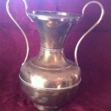 Antigüedades: JARRON FLORERO DE METAL. Lote 42237929
