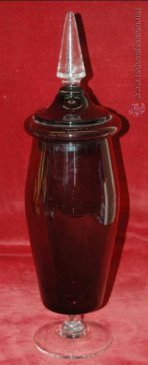 PRECIOSA COPA TIPO CARAMELERO EN VIDRIO DE MURANO DE LOS AÑOS 40-50 (Antigüedades - Cristal y Vidrio - Murano)