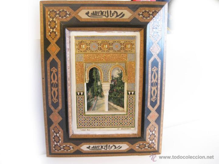 Cuadro de escayola policromada de la alhambra c comprar - Cuadros de escayola ...