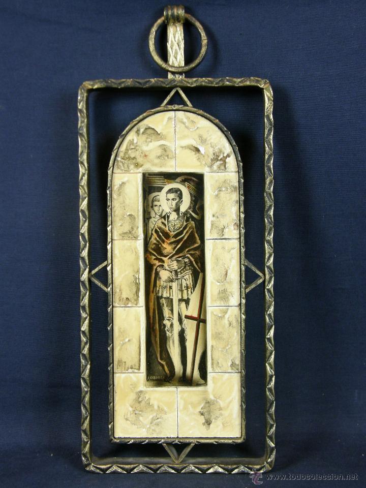 impresión placa madera simulando cerámica san j - Comprar Ornamentos ...