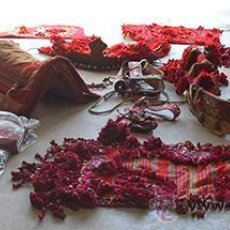 Antigüedades: GUARNICIÓN DE GALA PARA CABALLO, SIGLO XX. Lote 42270165