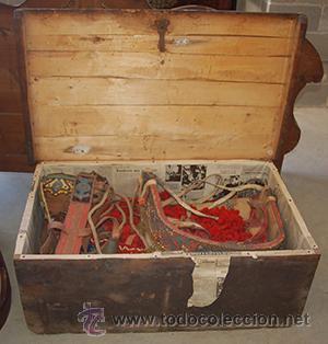 Antigüedades: Guarnición de gala para caballo, siglo XX - Foto 4 - 42270165