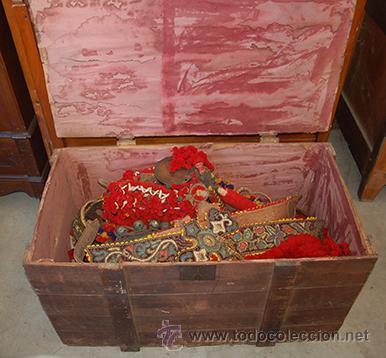 Antigüedades: Guarnición de gala para caballo, siglo XX - Foto 5 - 42270165