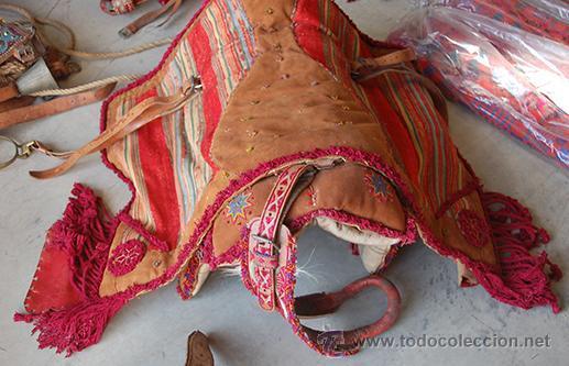 Antigüedades: Guarnición de gala para caballo, siglo XX - Foto 13 - 42270165