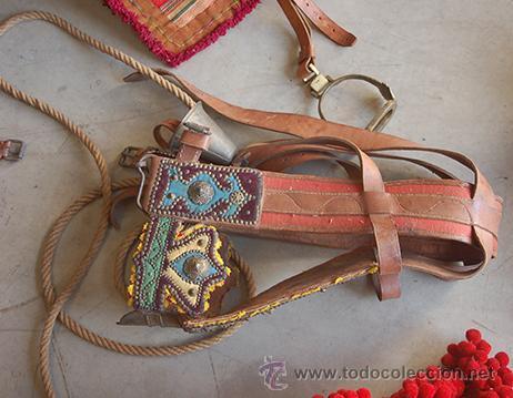 Antigüedades: Guarnición de gala para caballo, siglo XX - Foto 21 - 42270165
