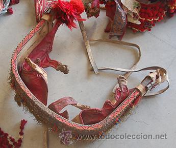 Antigüedades: Guarnición de gala para caballo, siglo XX - Foto 26 - 42270165