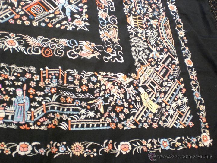Antigüedades: Manton de Manila - Foto 14 - 42286565