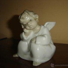 Antigüedades: ANGEL PENSANDO. LLADRO. PRIMERAS UNIDADES. DESCATALOGADA. AÑOS 70. MARCA EN BASE. Lote 42303769