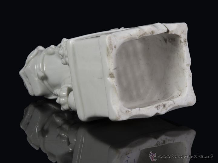 Antigüedades: Leon de foo. China Blanc de chine. Siglo XVII - Foto 4 - 42317568