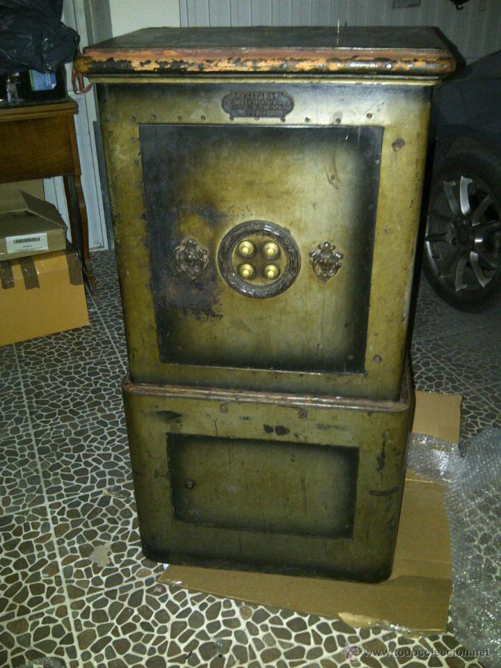 Magnifica caja fuerte antigua petitjean de par comprar - Caja fuerte precios ...