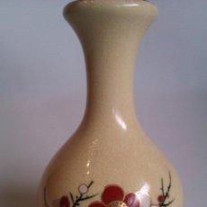 Antigüedades: JARRON ANTIGUO DE PORCELANA SATSUMA MADE IN JAPAN Y ORO 22K. Lote 42348715