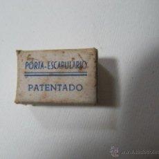 Antigüedades: PORTAESCAPULARIO MINIATURA, VIRGEN DEL CARMEN, 2,5X1,7CMS. Lote 42349667