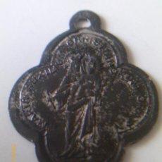 Antigüedades: MEDALLA -Mª AUXILIADORA - SAN ANTONIO. Lote 42368280