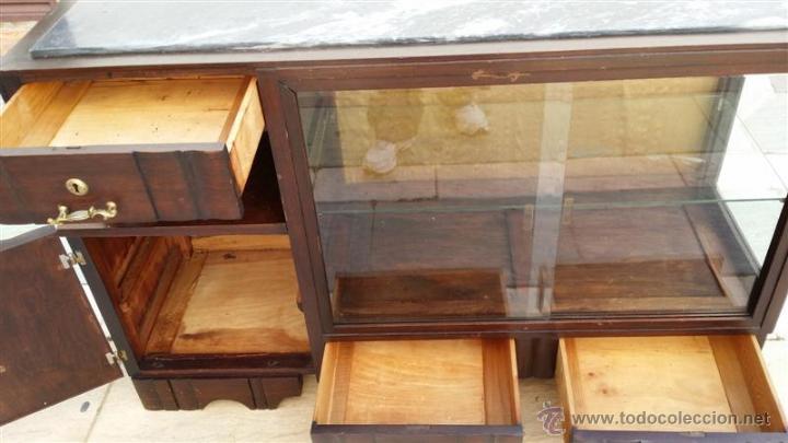Antigüedades: mueble aparador vitrina ardeco - Foto 3 - 42389106