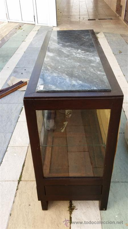 Antigüedades: mueble aparador vitrina ardeco - Foto 4 - 42389106