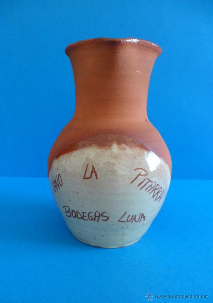 JARRA PARA EL VINO / BODEGAS LUNA (Antigüedades - Porcelanas y Cerámicas - Azulejos)