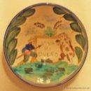 Antigüedades: PLATO FUENTE HONDA, 28 CM DE DIAMETRO, FIRMADO CASA. Lote 42405401