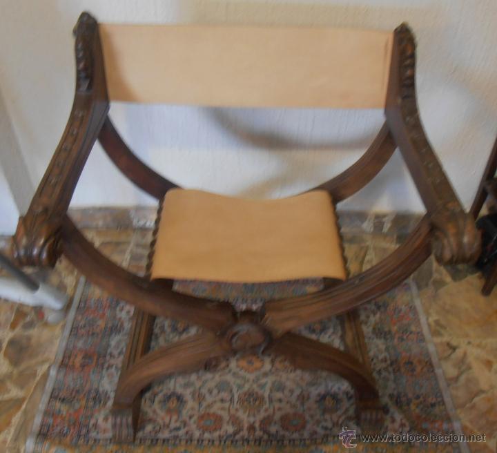 Antigüedades: SILLON FRAILERO, JAMUGA, SILLON CASTELLANO - Foto 4 - 42408423