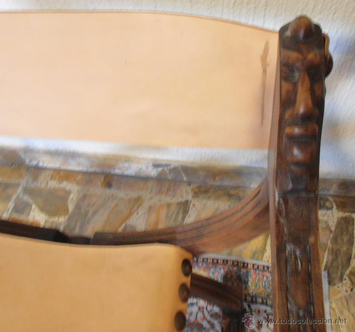 Antigüedades: SILLON FRAILERO, JAMUGA, SILLON CASTELLANO - Foto 5 - 42408423