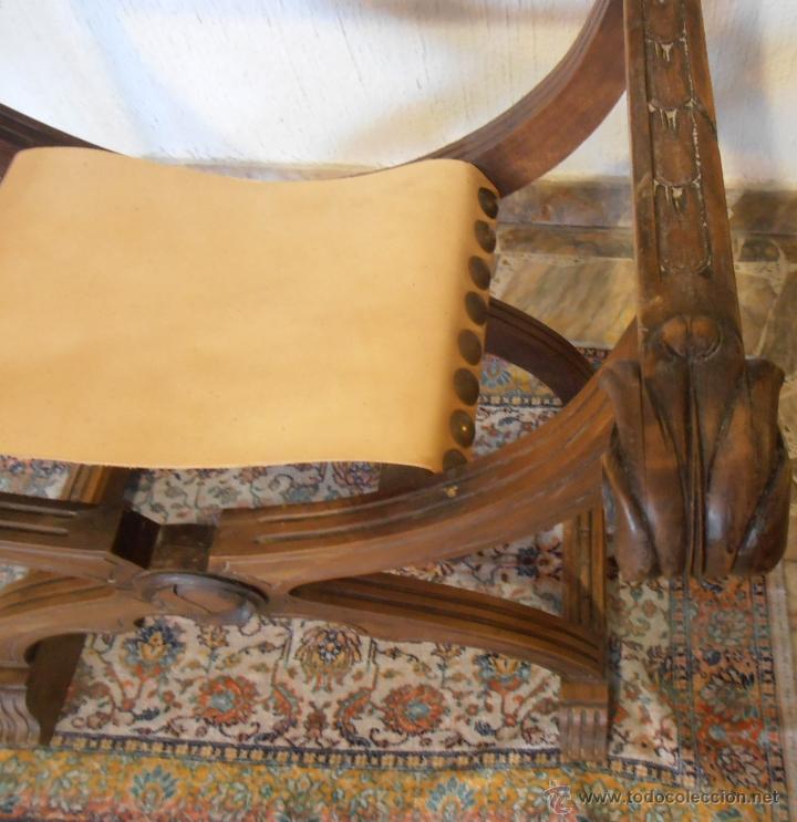 Antigüedades: SILLON FRAILERO, JAMUGA, SILLON CASTELLANO - Foto 6 - 42408423