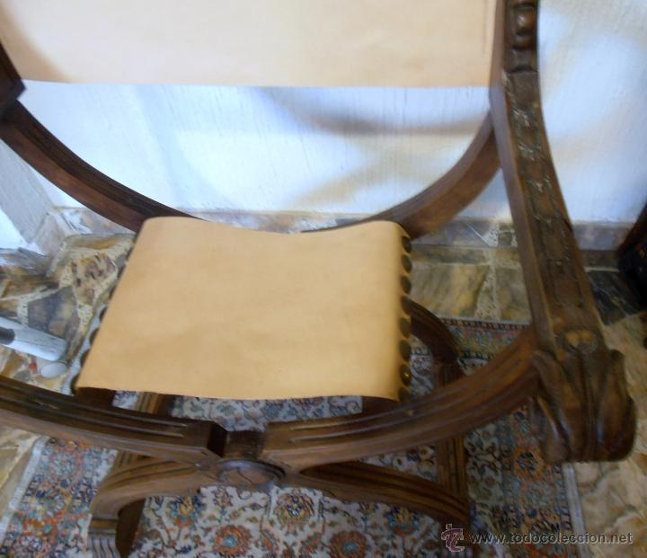 Antigüedades: SILLON FRAILERO, JAMUGA, SILLON CASTELLANO - Foto 7 - 42408423