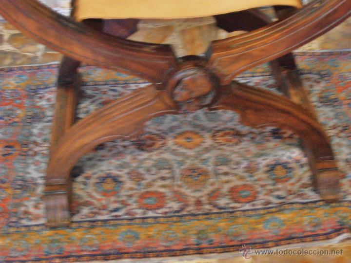 Antigüedades: SILLON FRAILERO, JAMUGA, SILLON CASTELLANO - Foto 8 - 42408423