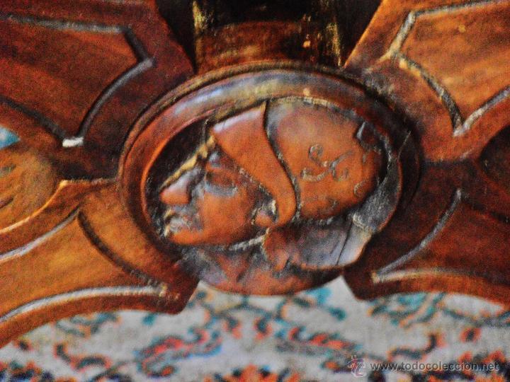 Antigüedades: SILLON FRAILERO, JAMUGA, SILLON CASTELLANO - Foto 9 - 42408423