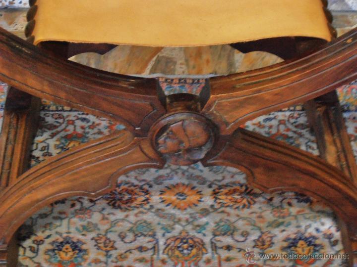 Antigüedades: SILLON FRAILERO, JAMUGA, SILLON CASTELLANO - Foto 10 - 42408423