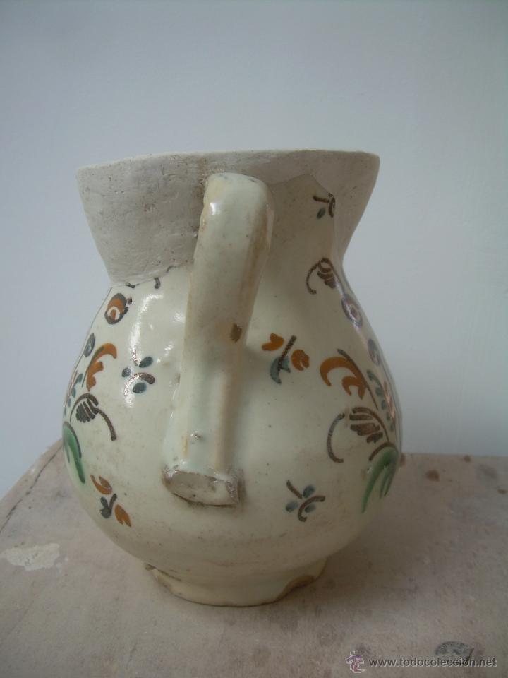 Antigüedades: Jarra de bola 1890-1910 jarra cerámica, jarra de loza, jarra porcelana. - Foto 4 - 42419477