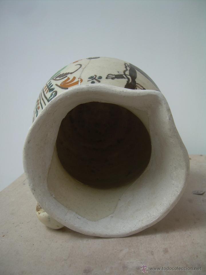 Antigüedades: Jarra de bola 1890-1910 jarra cerámica, jarra de loza, jarra porcelana. - Foto 5 - 42419477