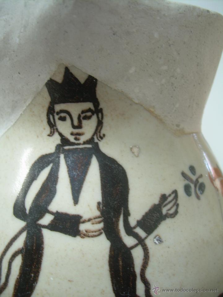 Antigüedades: Jarra de bola 1890-1910 jarra cerámica, jarra de loza, jarra porcelana. - Foto 6 - 42419477