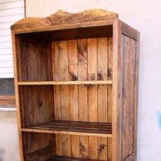 Mueble panadero de madera rustico estanteria c comprar - Armario rustico segunda mano ...