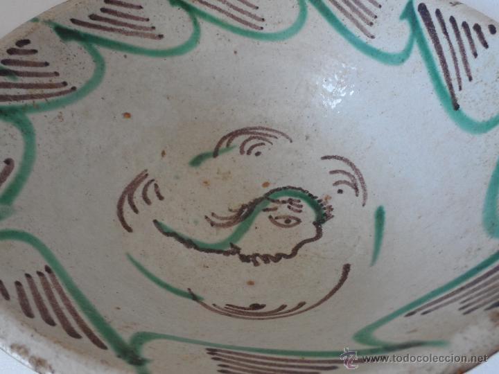 Antigüedades: CUENCO DE CERAMICA DE TERUEL. S. XIX - En buen estado sin pelos ni restauraciones - Foto 4 - 42436478