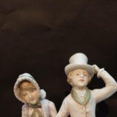 Antigüedades: PAREJA DIECIOCHESCA INFANTIL. Lote 42444100