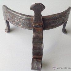 Antigüedades: CALZO PARA PUCHEROS DE HIERRO FORJADO S XIX. Lote 42314480