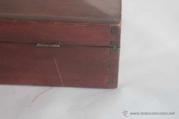 Antigüedades: PRECIOSA CAJA DE CAOBA - Foto 6 - 42469178