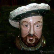 Antigüedades: JARRA DE PORCELANA INGLESA, ENRIQUE VIII- SELLO BESWICK ENGLAND 2099.. Lote 42470561